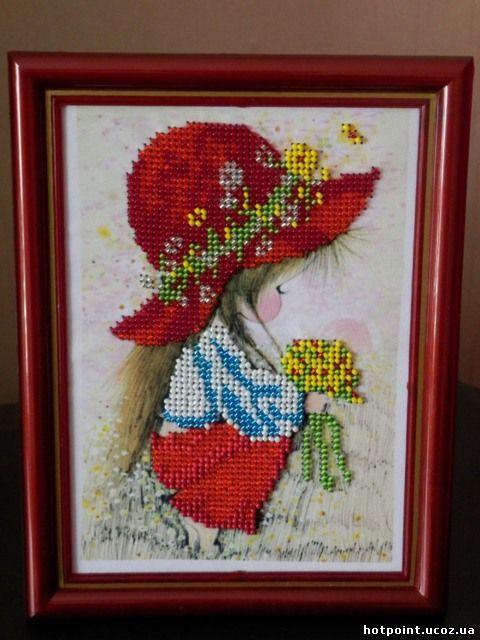 Вишиті картини бісером виходять дуже красиві і яскраві 7407e54855411