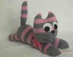 Игрушки из носков своими руками котёнок